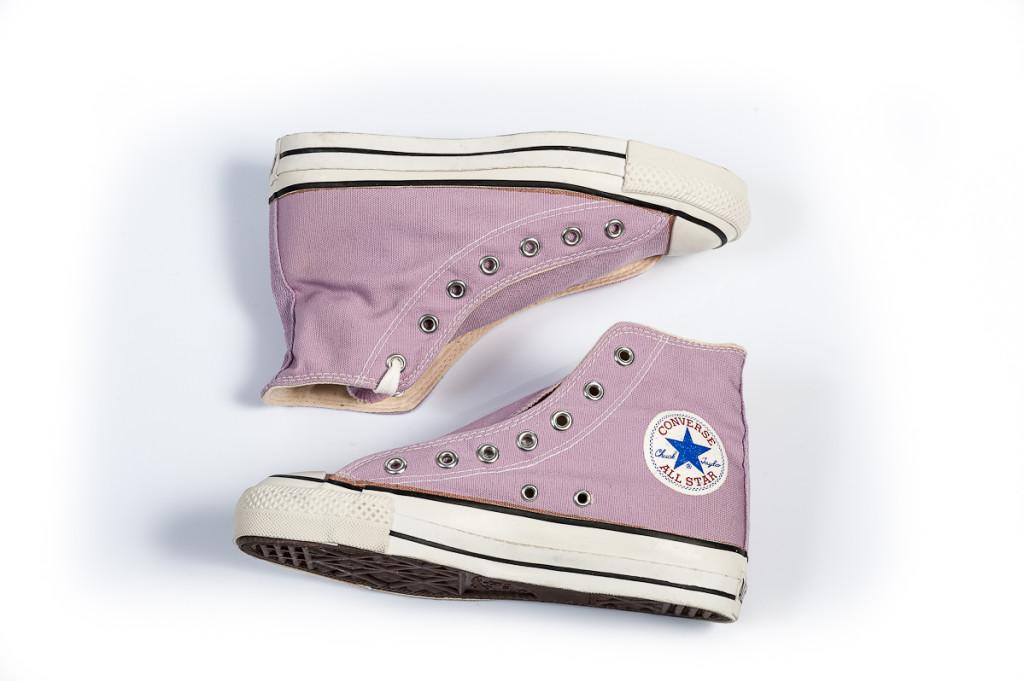 Vintage Converse All Stars in Crocus
