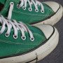 Vintage Converse All Stars green ox 3