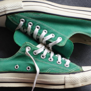 Vintage Converse All Stars green ox 5