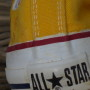 Vintage Converse All Stars yellow 3