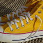 Vintage Converse All Stars yellow  4