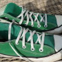 Vintage Converse All Stars high green 1