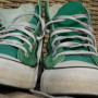 Vintage Converse All Stars high green 2