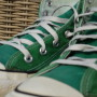 Vintage Converse All Stars high green 3