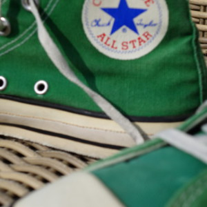 Vintage Converse All Stars high green 4