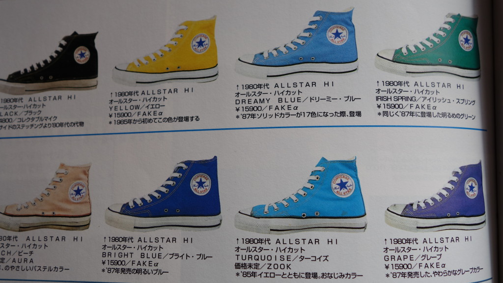 Legends of Converse. Fake ones?