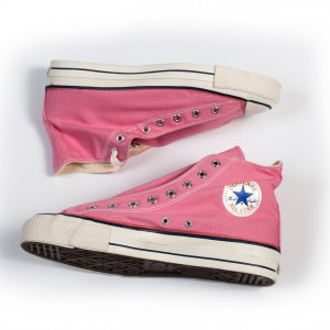 Vintage Converse All Stars Pink Stock 1