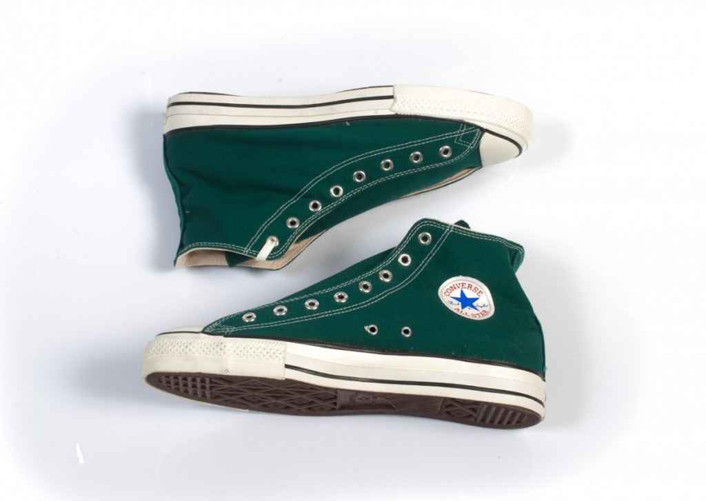 Vintage Converse All Stars in Forrest