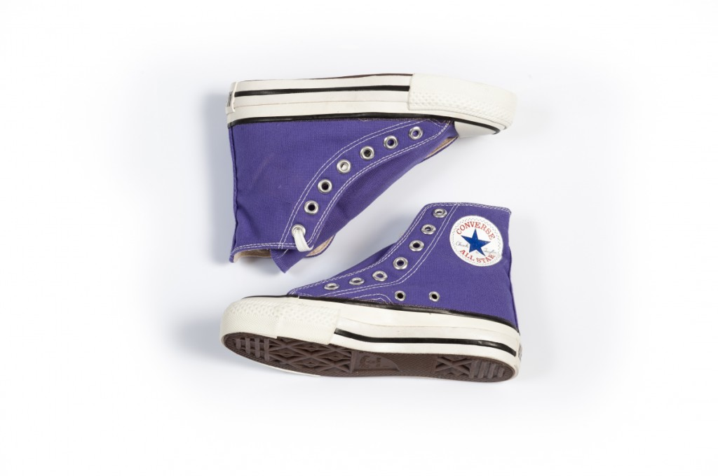 Vintage Converse All Stars in Purple