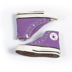 Vintage Converse All star Grape1