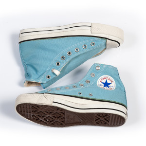 Vintage Converse All Stars Dreamy Blue 1