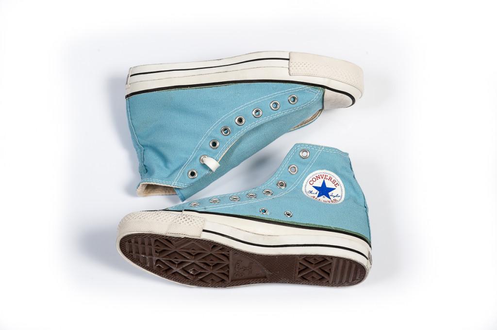 converse vintage blue